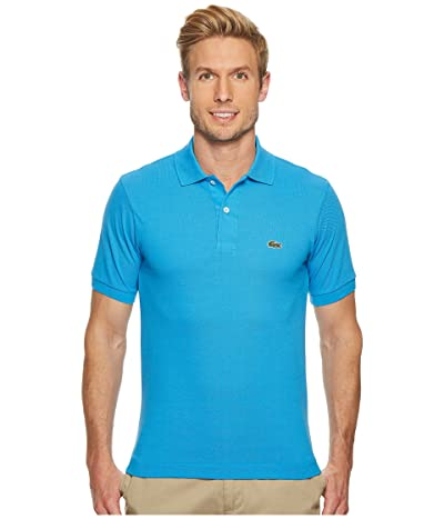 Lacoste Short Sleeve Classic Pique Polo Shirt (Ibiza) Men