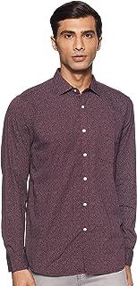 Max Men's Printed Regular Casual Shirt