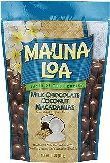 Mauna Loa Mauna Loa Milk Chocolate Coconut Macadamia Nuts, 11-Ounce