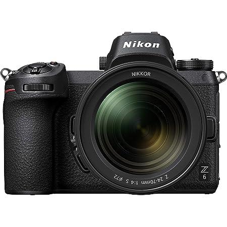 Nikon Z6 FX-Format Mirrorless Camera Body w/ NIKKOR Z 24-70mm f/4 S