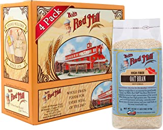 Bob's Red Mill Cereal Oat Bran, 18-Ounce (Pack of 4)