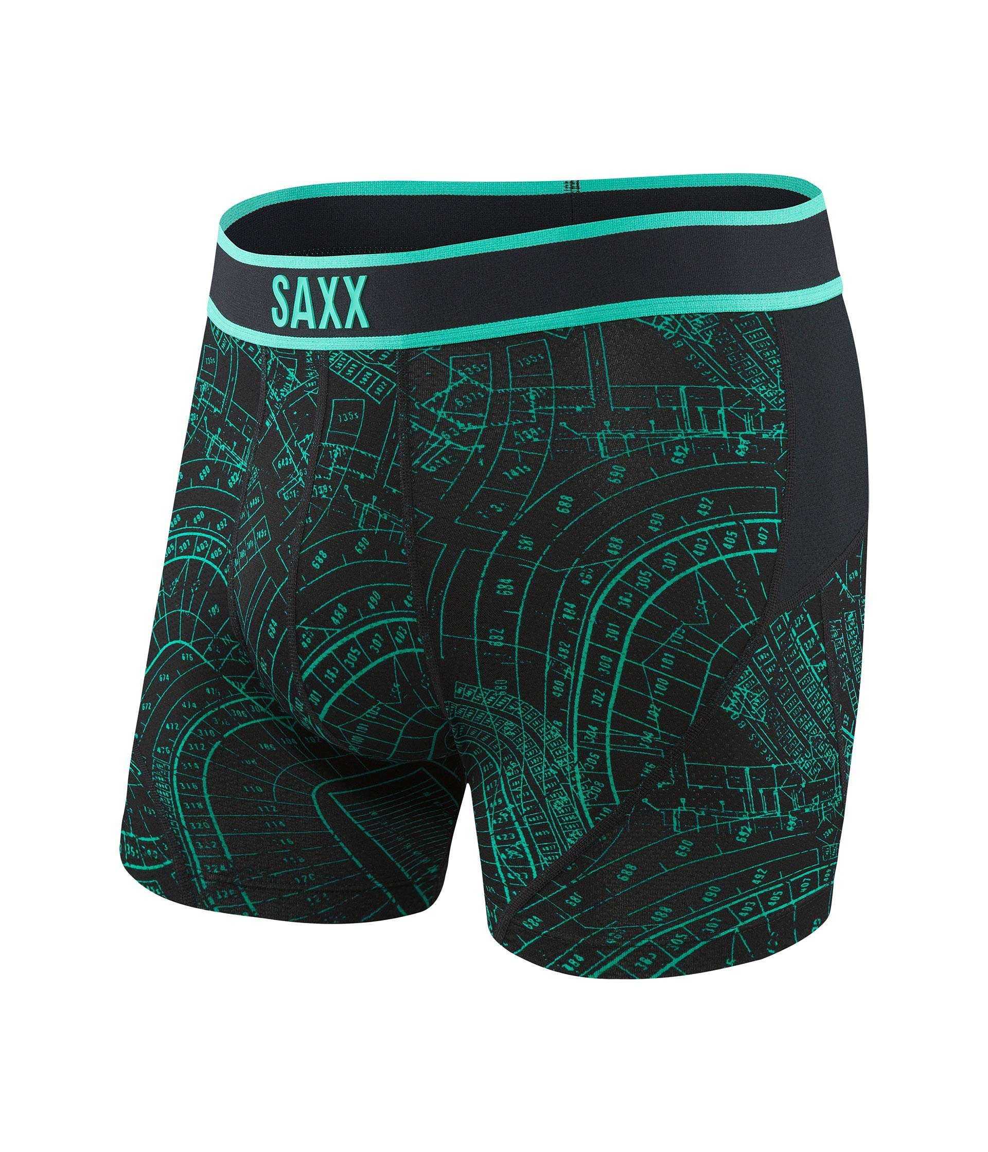 Iron Saxx Underwear Kinetic Boxer Grid 8Xwq8