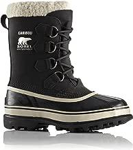 Sorel Women's Caribou Boot Black/Stone (9)