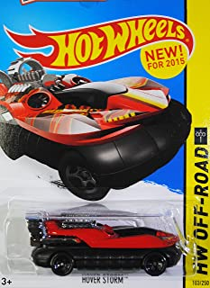 2015 Hot Wheels HW Off-Road Hover Storm (Red) Jungle Rally 103/250