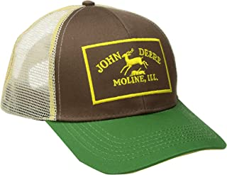 60d90ef6bc1 John Deere Men s Twill and Mesh Cap Embroidery