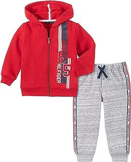 Baby Boys 2 Pieces Hooded Jog Set
