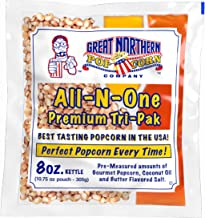 GREAT NORTHERN POPCORN COMPANY – 8 oz Popcorn Packs – Pre-Measured – GRETA NORTHERN POPCORN COMPANY
