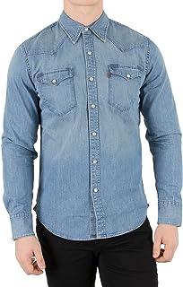 the best attitude 6c2cf 27c7f Amazon.it: camicia jeans levis