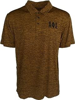 Cultural Exchange Buffalo Dallas Alpha Phi Alpha Shield Dri-Fit Mens Polo Shirt