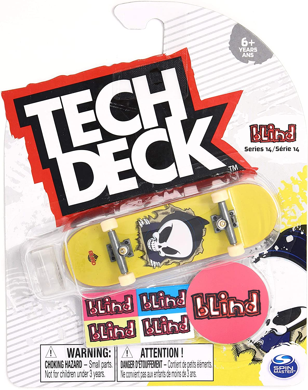 Tech-Deck Series 14 Sk8mafia Skateboards Rasta Camo Complete 96mm Fingerboard