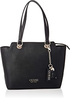 Guess Womens Tote Bag, Black - VG767223