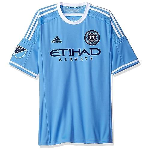 3507224c7 adidas MLS New York City FC Men s Replica Short Sleeve Team Jersey