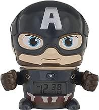 Bulb Botz Avengers: Infinity War Captain America Night Light Marvel Alarm Clock