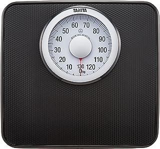 タニタ 体重計 アナログ 大画面 ブラック HA-650 BK 見やすい大きな目盛版