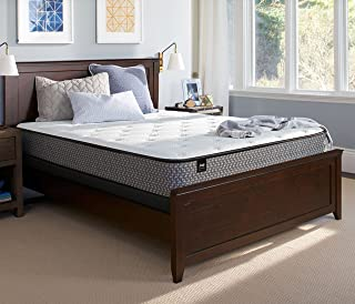 Sealy 10-Inch Firm Tight Top Mattress, Queen, Made in USA, 5 Year Warranty