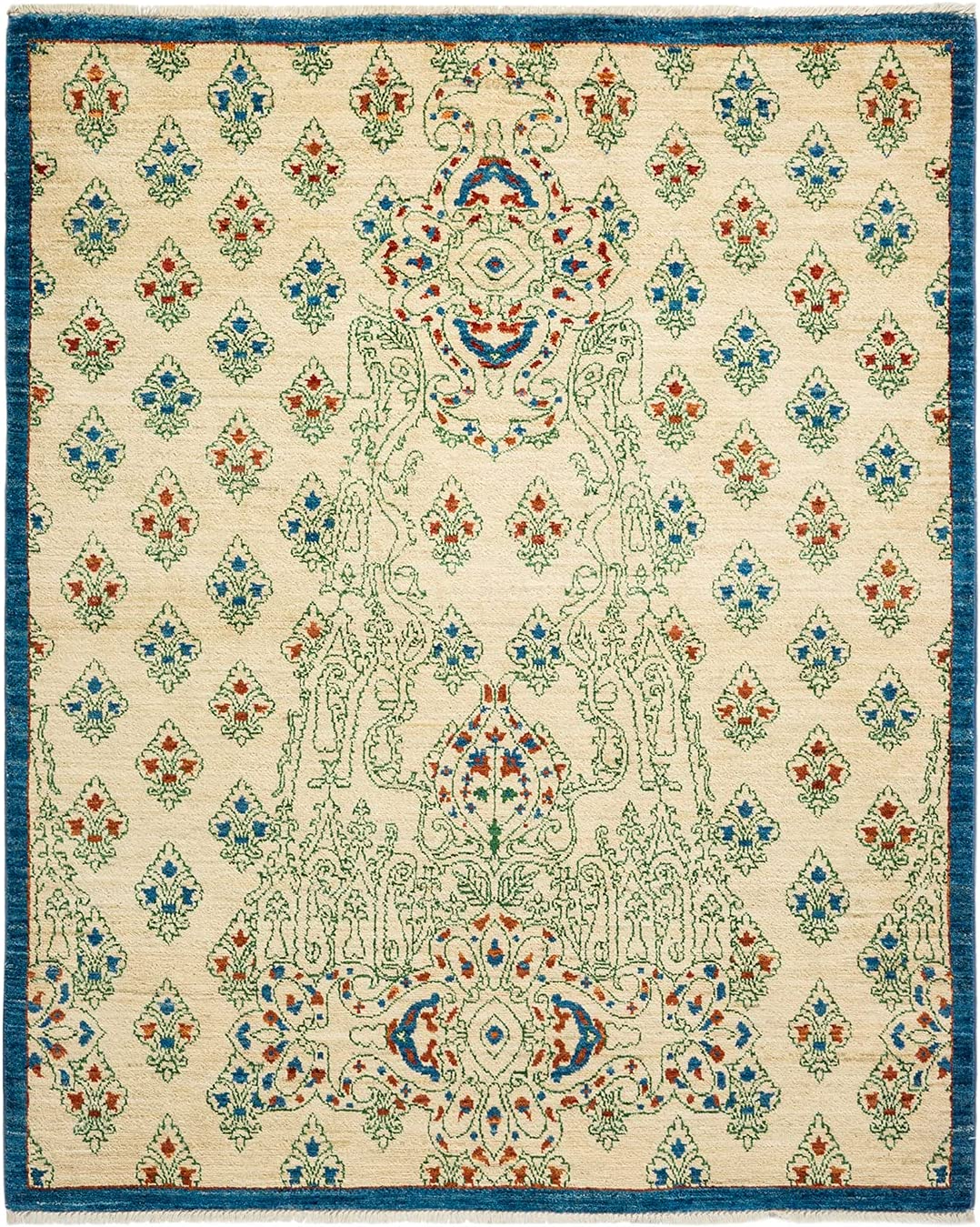 Solo Rugs Suzani Contemporary Knotted Sales of SALE items from new Soldering works Made One-of-a-Ki Hand
