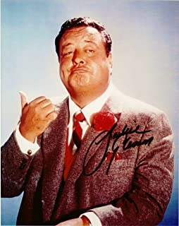 Jackie Gleason 8 X 10 Photo Display Autograph on Glossy Photo Paper