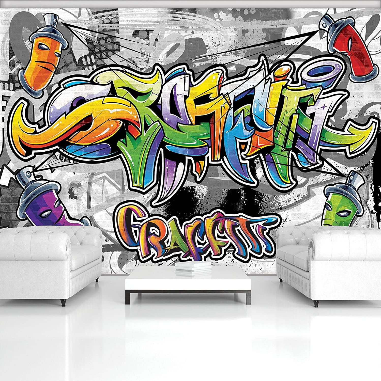 FORWALL Fototapete Vlies - Tapete Moderne Wanddeko Buntes Graffiti VEXXL VEXXL VEXXL (312cm. x 219cm.) AMF2295VEXXL Wandtapete Design Tapete B077NF2HG9 70cea8