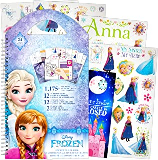 Disney Frozen Stickers Travel Activity Set with Stickers, Activities, and Castle Door Hanger