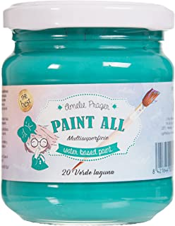 Amelie Prager ES-20 - Pintura multisuperficie 180 ml color verde laguna