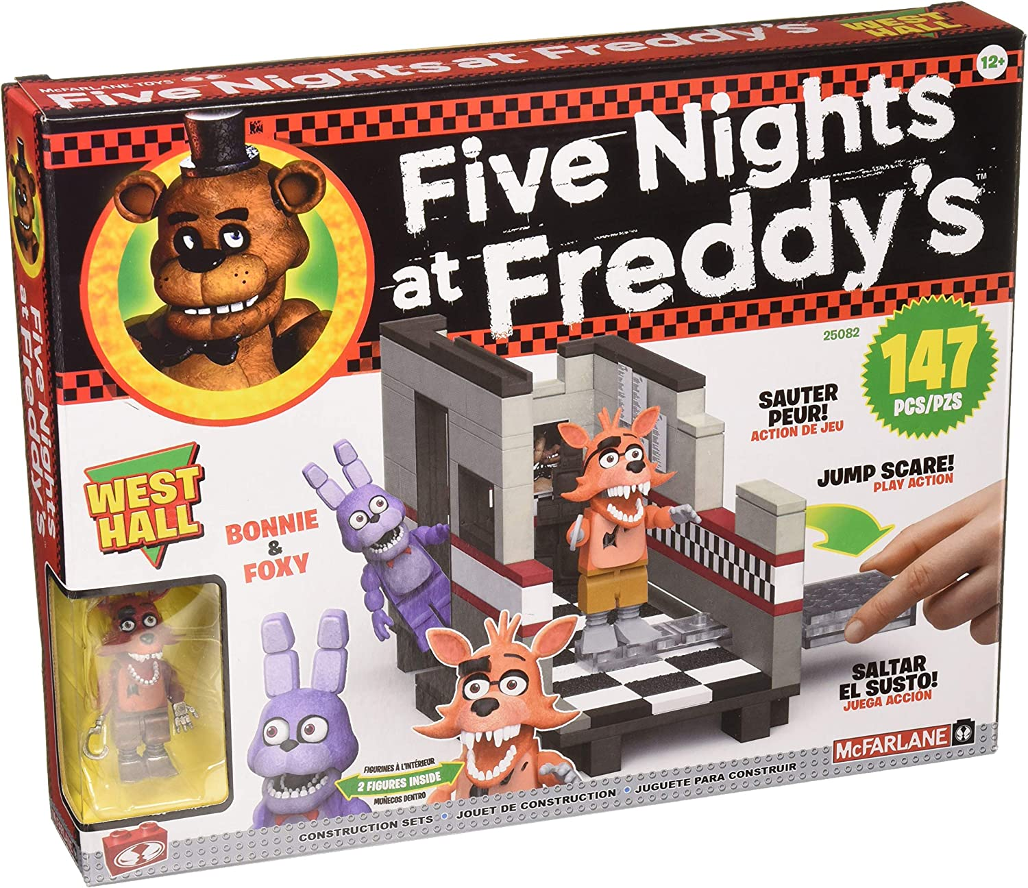 McFarlane Toys Toys Toys Five Nights at Freddy's West Hall
