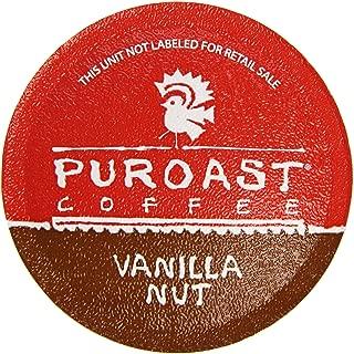 Puroast Low Acid Coffee Single Serve, 2.0 Keurig Compatible, Vanilla Nut, 12 Count