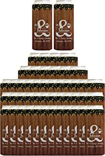Personalized Wedding Slim Can Coolies Mr & Mrs Your Names & Date Customized Wedding Coolies 48-pack Customized Can Coolie Drink Coolers Coolies Multicolor