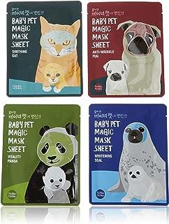 [Holika Holika] Baby Pet Magic Mask Sheet 22ml (1 Sheet) - 4 Type (4 Set)