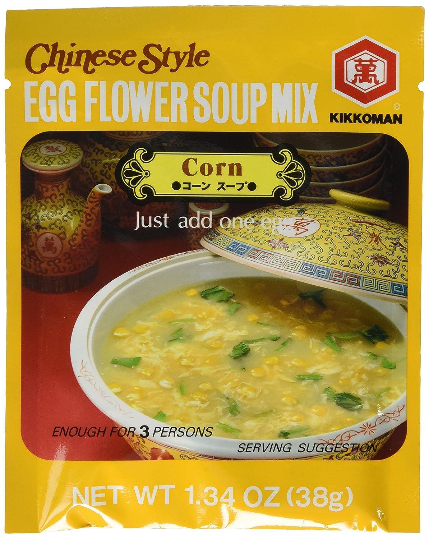 Kikkoman Cheap sale Chinese Style In stock Egg Flower Soup Corn Flavor 1.34 Ou Mix