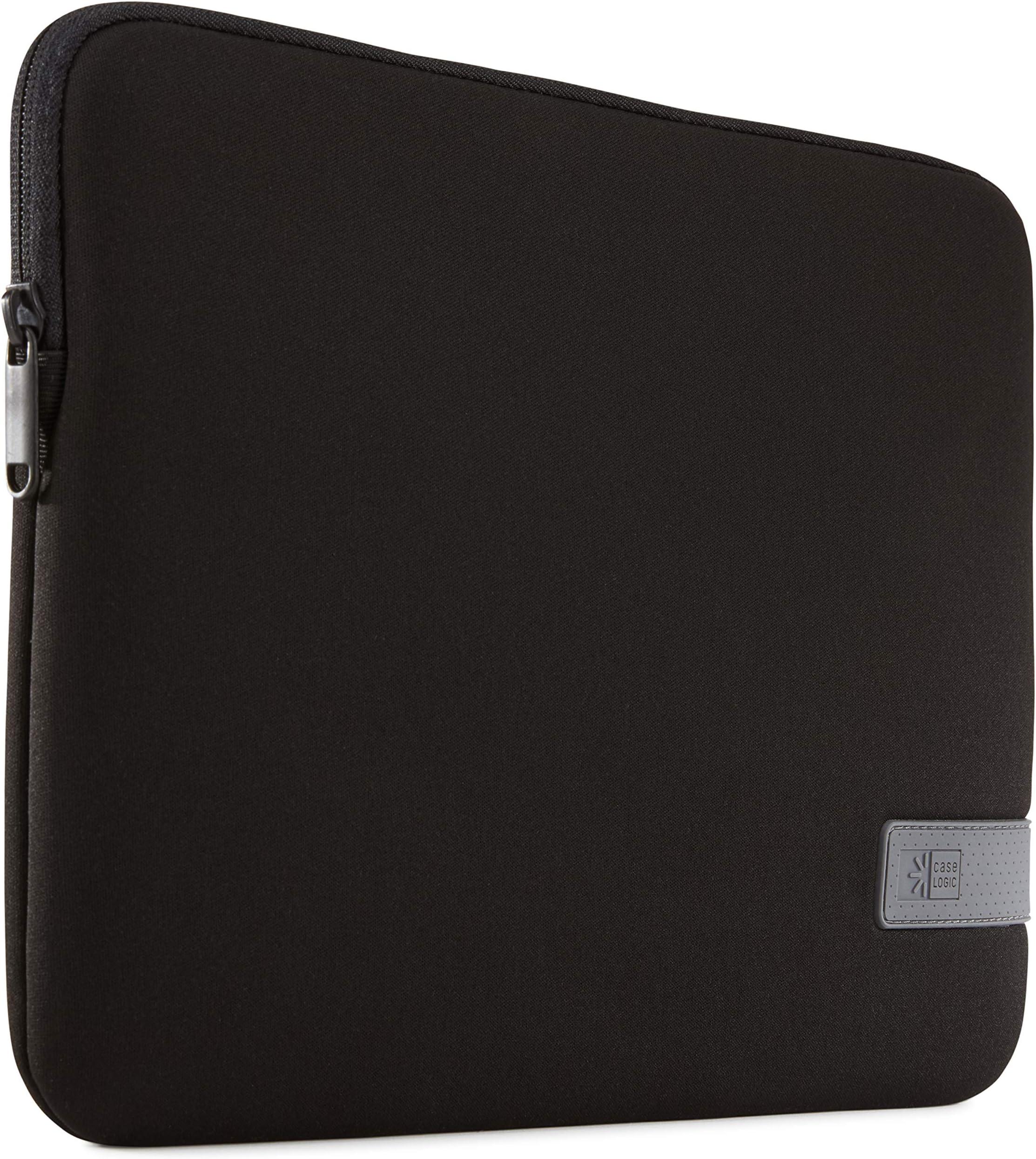 "Case Logic Reflect 13"" MacBook Pro Sleeve-Dark Blue, Black"