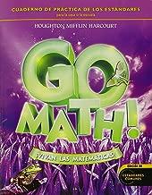 GO Math! Vivan Las matemáticas: Student Practice Book Grade 3 (Spanish Edition)