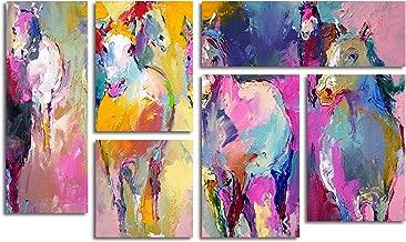 Trademark Fine Art Wild by Richard Wallich Wall Decor, 6-Panel Set