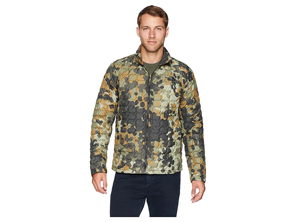 The North Face ThermoBall Jacket (New Taupe/Green Macrofleck/Camo Print) Men