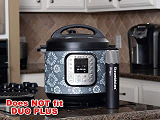 SteamMates Wraps Compatible with Instant Pot Accessories 6 qt   Does not fit Duo Plus   Fits InstaPot Duo 6 qt ONLY   Night Floral Duo 6 Qt