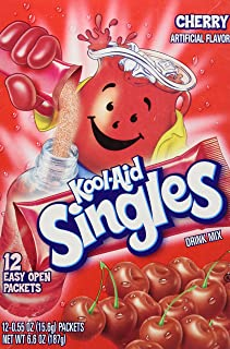 Kool-aid Singles Cherry (For 16.9-ounce Bottles), 12-count Packets (1 Box))