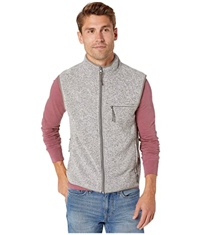 J.Crew Nordic Vest in Polartec(r) Fleece (Marled Grey) Men