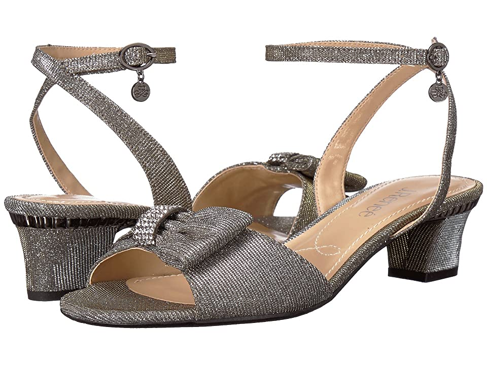 J. Renee Davet (Pewter) High Heels
