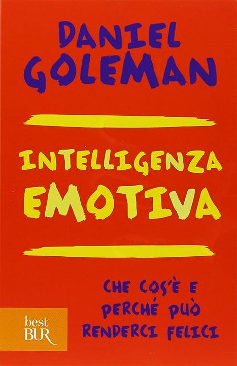 Intelligenza emotiva (italiano) copertina flessibile 978-8817050166