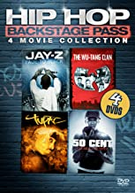 Hip Hop Backstage Pass - Four-Movie Collection: (Jay-Z: Fade to Black / Wu Tang Clan: Wu / Tupac: Resurrection / 50 Cent: Get Rich or Die Tryin')