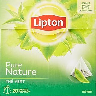 Lipton Thé Vert Nature 20 Sachets, 30g
