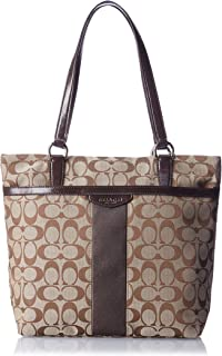 Best coach pink stripe tote Reviews