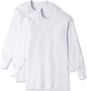 [グンゼ] インナーシャツ GreenMark 綿100% 長袖丸首 2枚組 GK12086 メンズ
