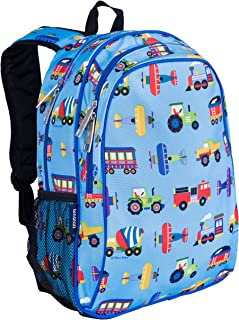 Wildkin Kids 15 Inch Backpack for Boys and Girls, Perfect Size for Preschool, Kindergarten, and Elementary School, Patterns Coordinate with Our Lunch Boxes and Duffel Bags