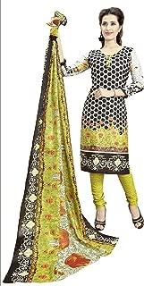 Minu salwar Cotton Printed Suit sets Multi(Joy_3014)