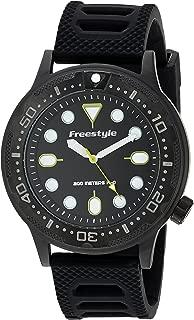 Freestyle Ballistic Diver Black/Yellow Unisex Watch 10024397