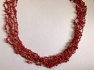 Jewelry for Women Fine Ball Beaded Long Layered Necklace Gifts for Women Ladies Mum Mother Sister Auntie Great Necklaces for Women and Accessories