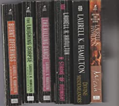 Laurell K. Hamilton - Set Of 6 Books - Micah - Burnt Offerings - The Laughing Corpse - The Killing Dance - A Stroke Of Mid...