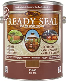 Ready Seal 115 1-Gallon Can Pecan Exterior Wood Stain and Sealer