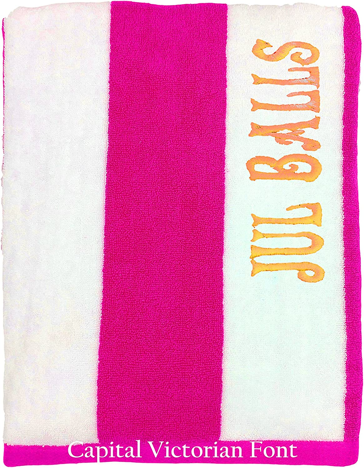 Embroidered Towel for Friends and Family