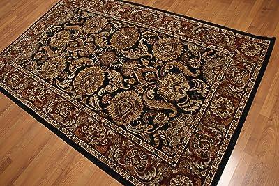 Amazon Com Generations 8023black Oriental Traditional Isfahan